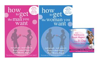 How to get the man you want & How to get the woman you want + CD offer