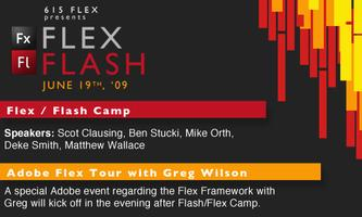 Flex / Flash Camp, Adboe User Group Tour
